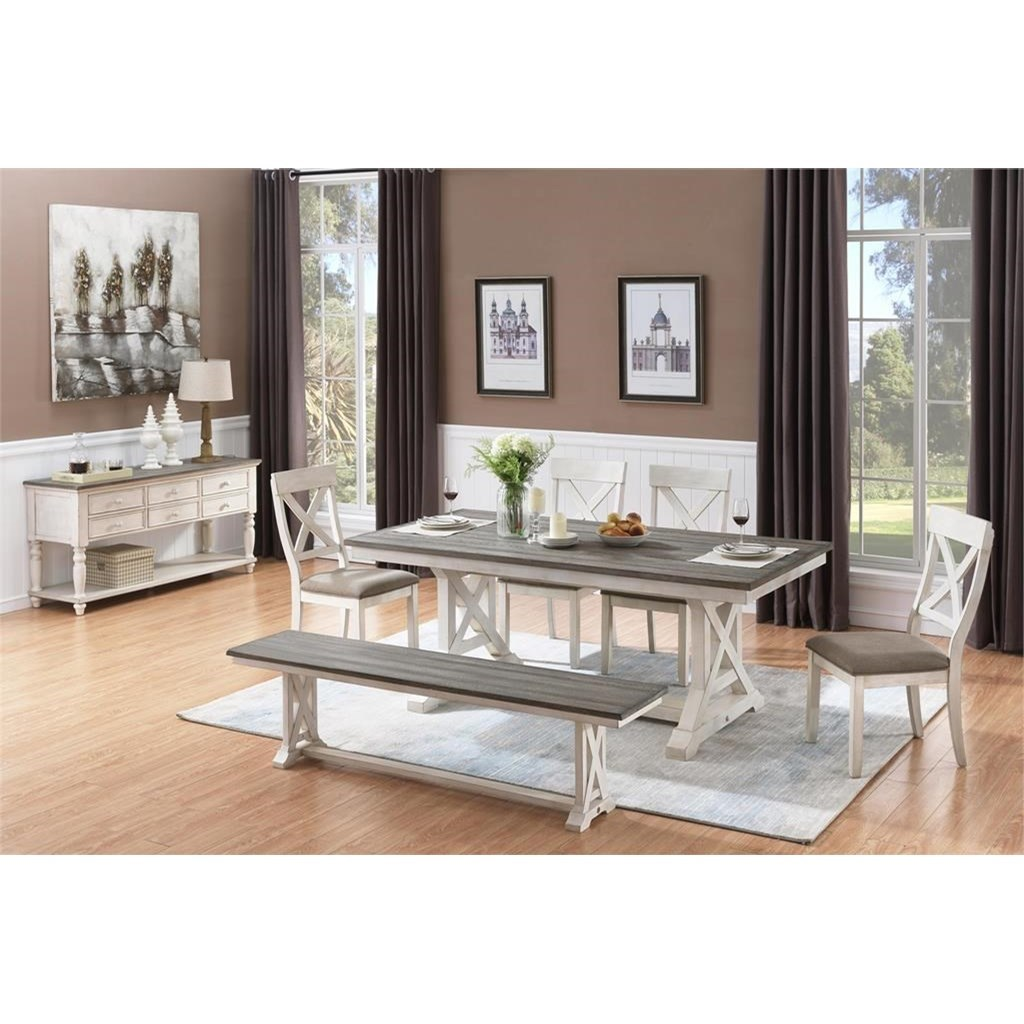 Bar Harbor II Formal Dining Room Group by Coast to Coast Imports at Baer's Furniture