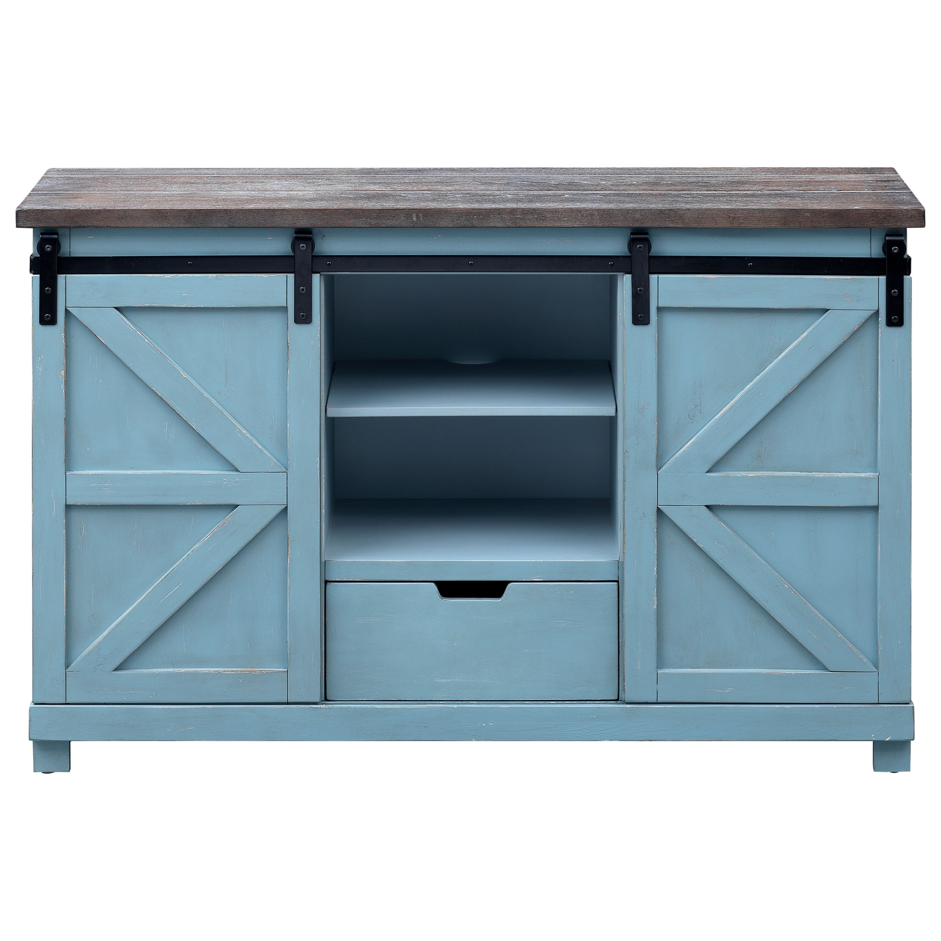 Bar Harbor 2-Door, 1-Drawer Credenza by Coast to Coast Imports at Baer's Furniture