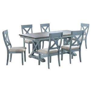 Rectangle Table And 4 Side Chair
