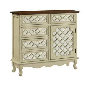 Morris Home Furnishings Berlin Berlin 5 Drawer 1 Door Chest
