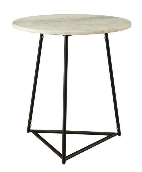 Morris Home Furnishings Morris Home Furnishings Barcelona Round Accent Table - Item Number: 880686803