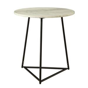 Morris Home Furnishings Morris Home Furnishings Barcelona Round Accent Table