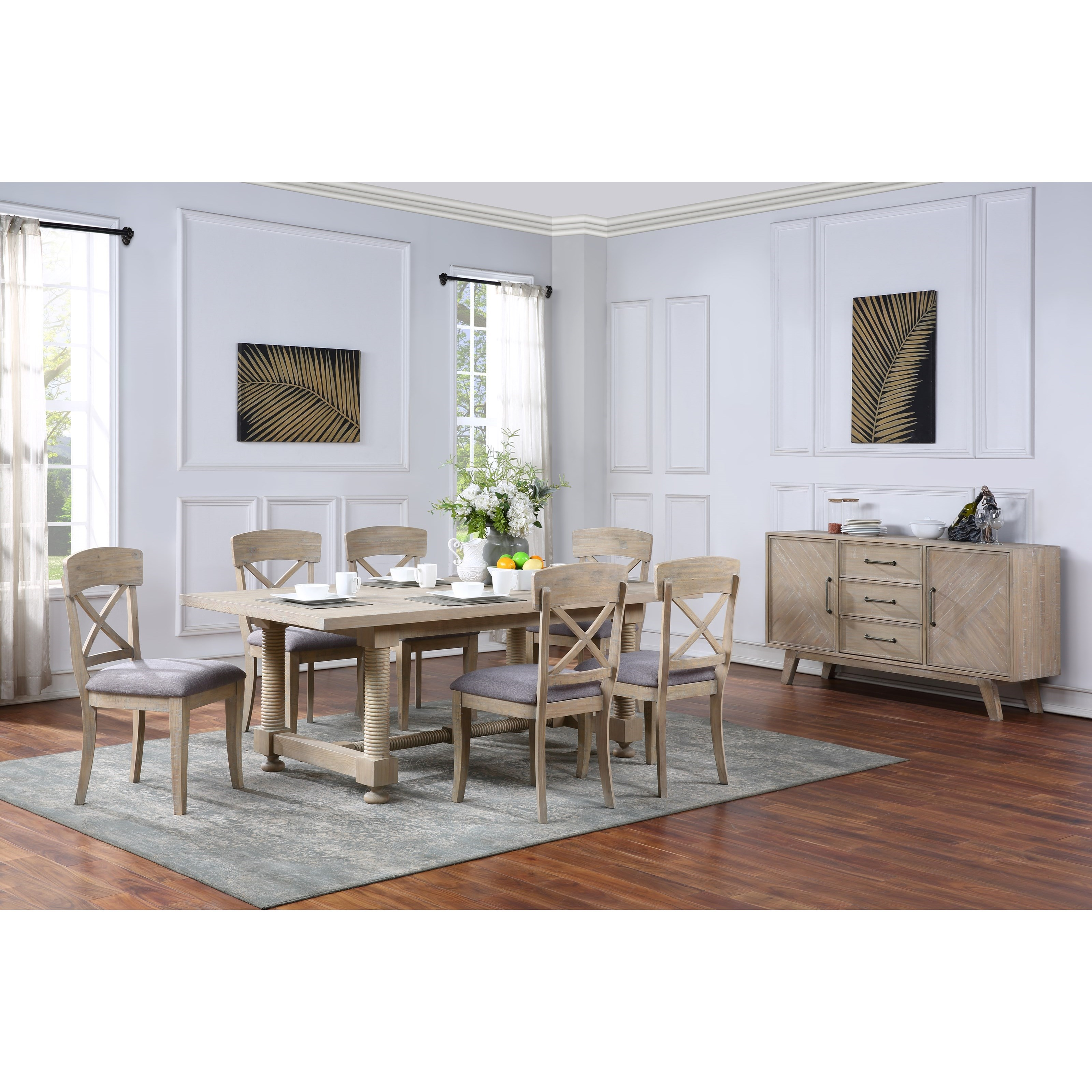 Barrister Dining Group by Coast to Coast Imports at Baer's Furniture