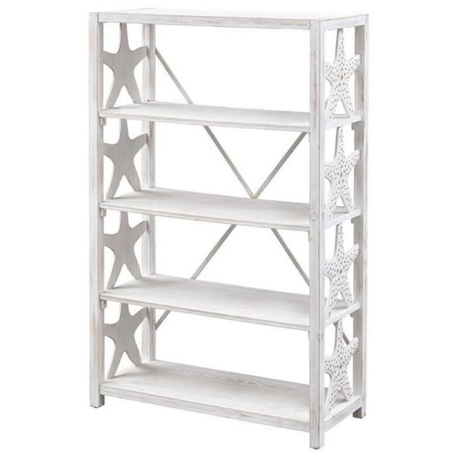 Pieces in Paradise Bookcase by Coast to Coast Imports at Zak's Home