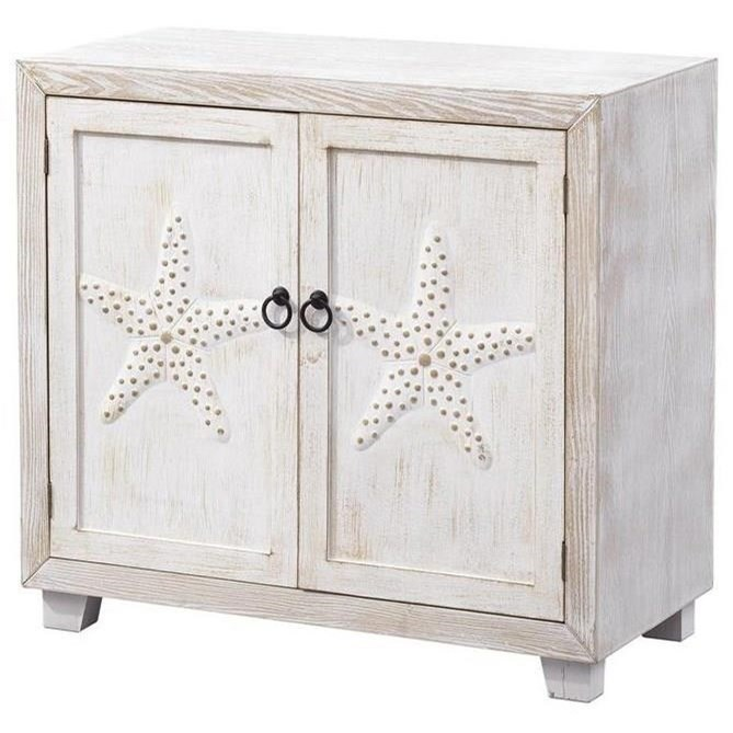Pieces in Paradise Two Door Cabinet by Coast to Coast Imports at Zak's Home