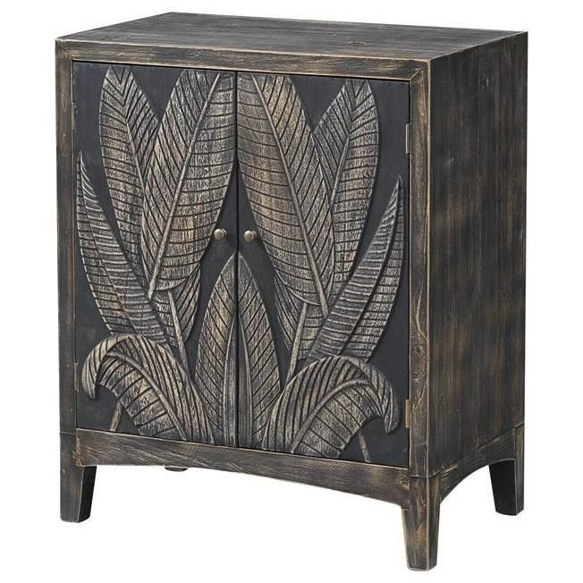 Pieces in Paradise Two-Door Cabinet by Coast to Coast Imports at Zak's Home