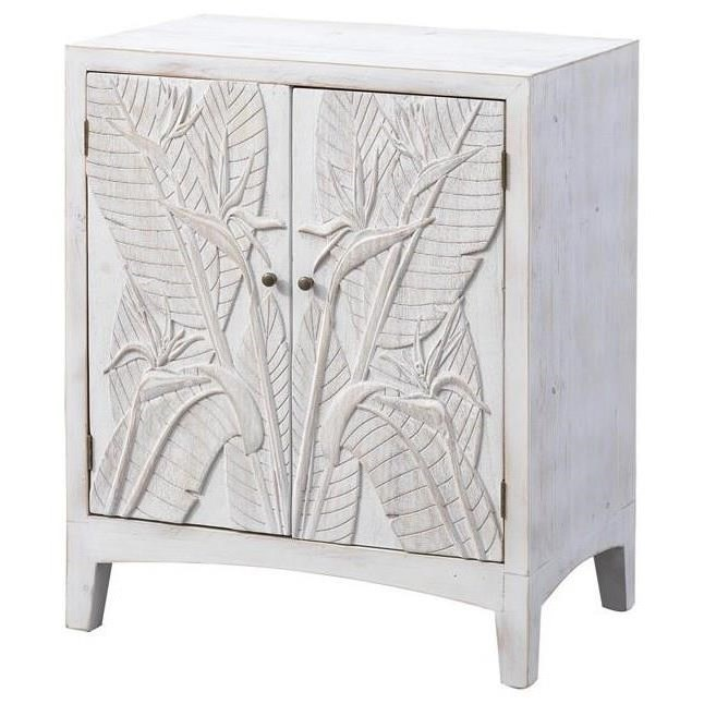 Pieces in Paradise Two Door Cabinet by Coast to Coast Imports at Johnny Janosik