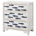 Coast to Coast Imports Pieces in Paradise 3-Drawer Chest - Item Number: 51508