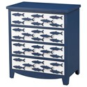 Coast to Coast Imports Pieces in Paradise 4-Drawer Chest - Item Number: 51509