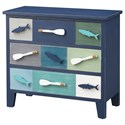 Coast to Coast Imports Pieces in Paradise 3-Drawer Chest - Item Number: 51510