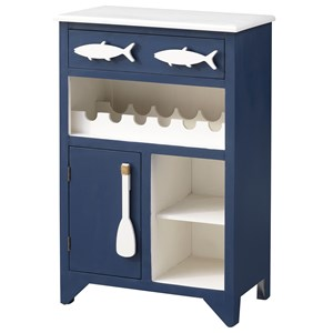 1-Drawer, 1-Door Wine Server