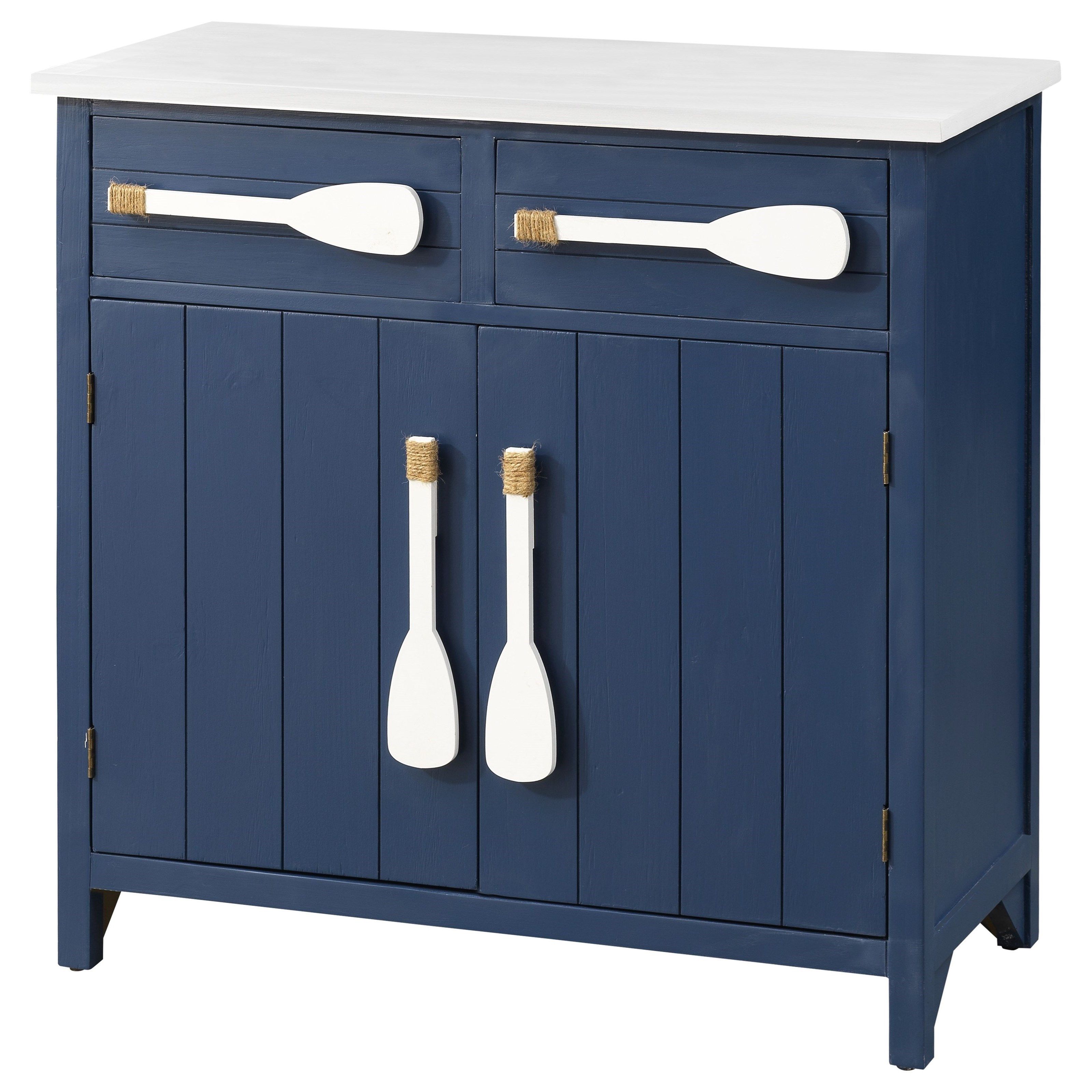 Pieces in Paradise 2-Drawer, 2-Door Cabinet by Coast to Coast Imports at Johnny Janosik