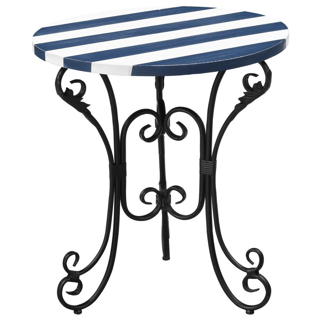 Pieces in Paradise Accent Table by Coast to Coast Imports at Zak's Home