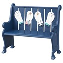 Coast to Coast Imports Pieces in Paradise Accent Bench - Item Number: 51520