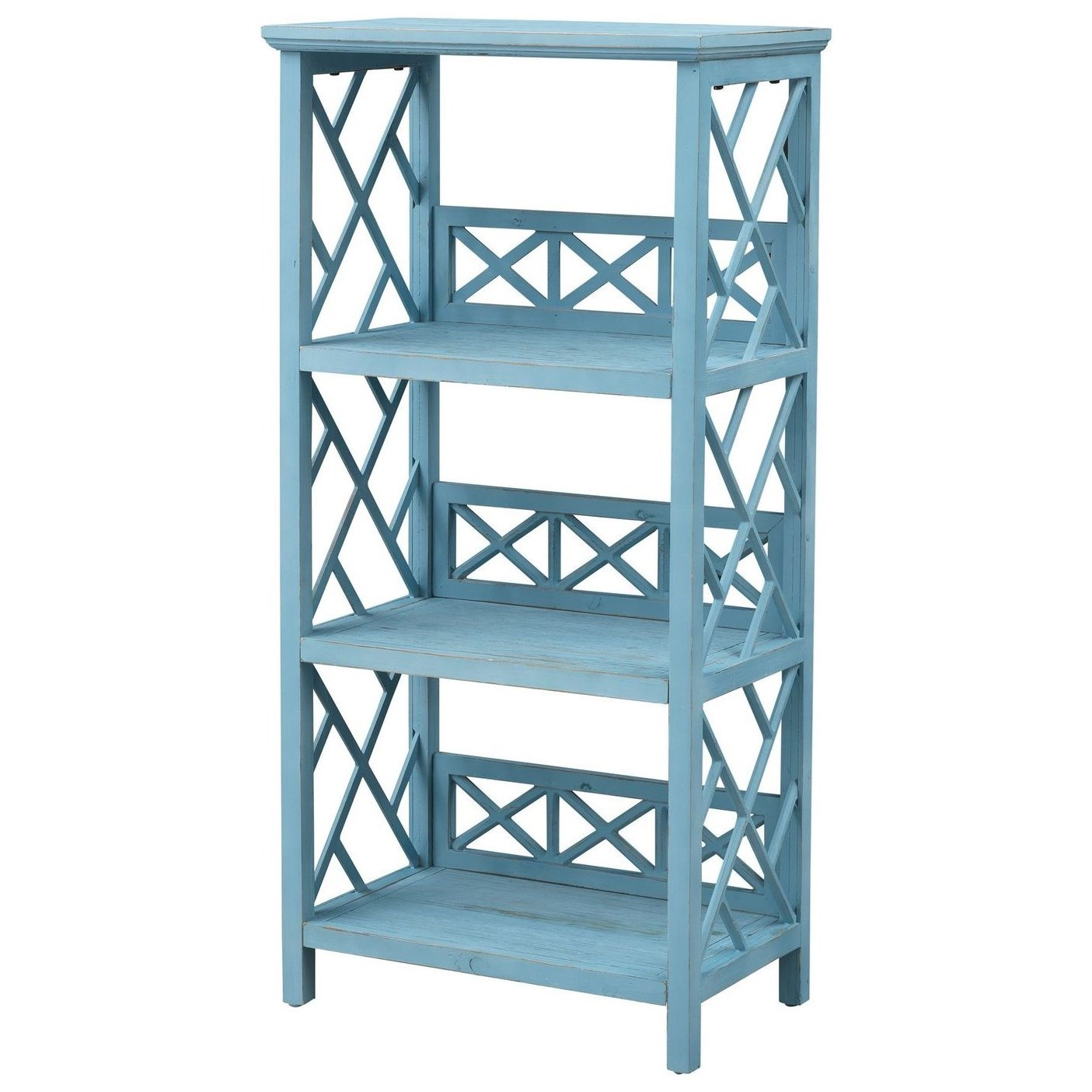 Pieces in Paradise Bookcase by Coast to Coast Imports at Baer's Furniture