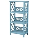 Coast to Coast Imports Pieces in Paradise Bookcase - Item Number: 51526