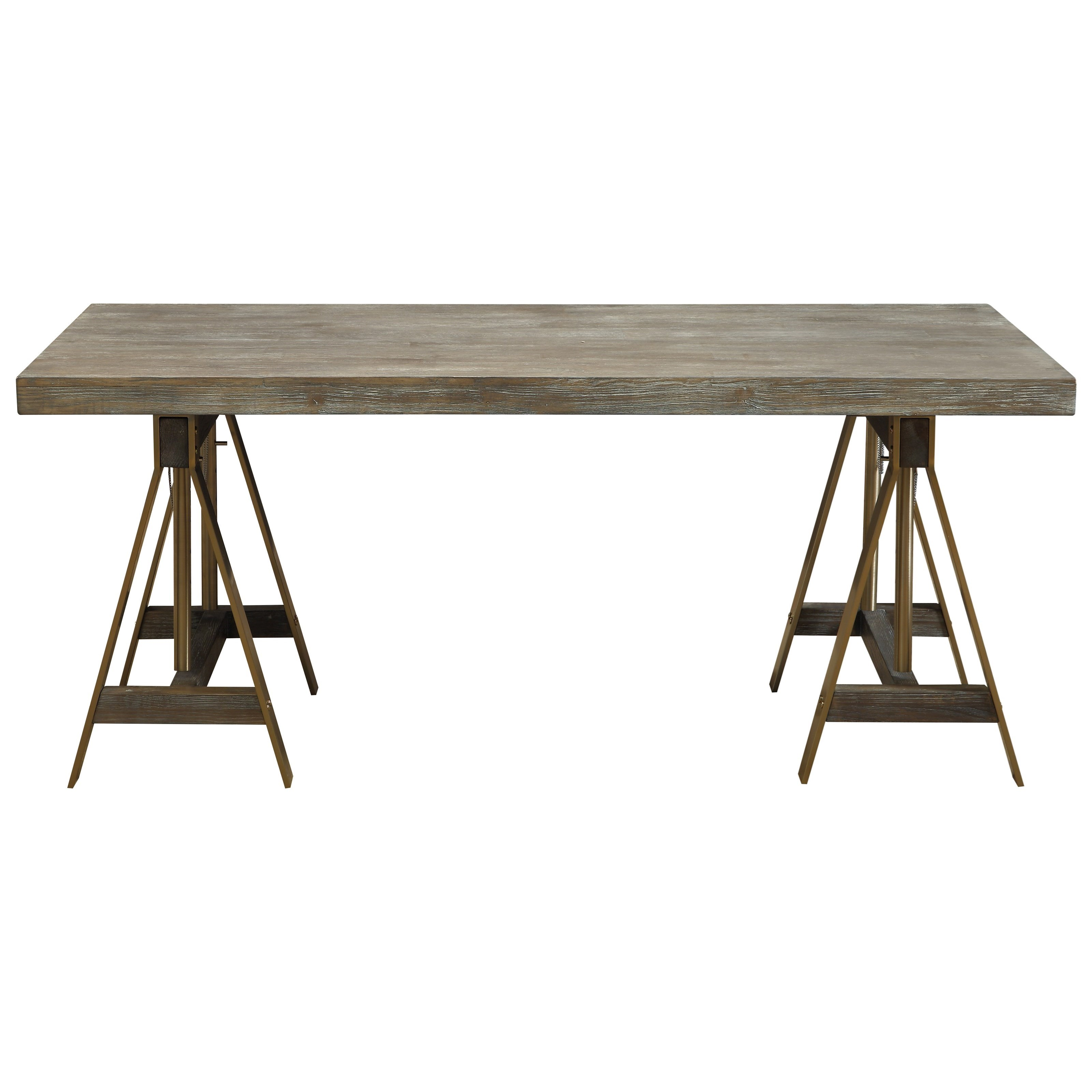 Biscayne Adjustable Dining Table / Desk by C2C at Walker's Furniture