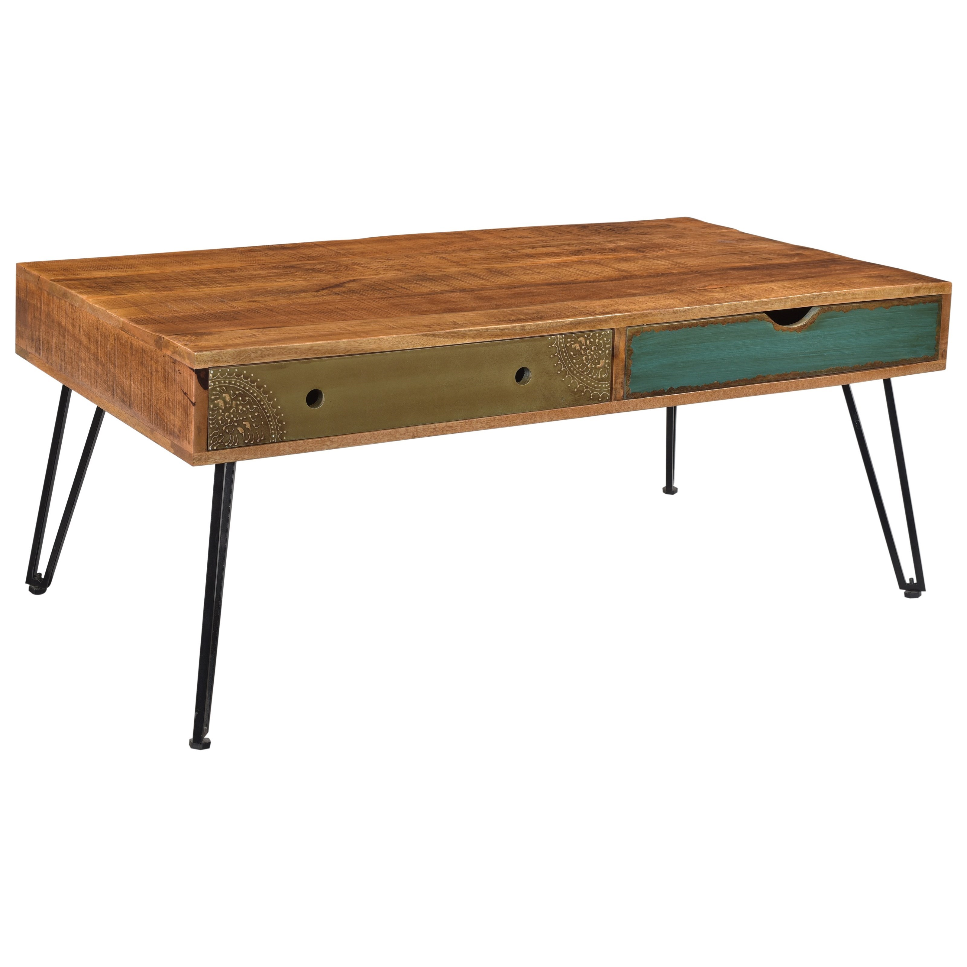 Brisbane Two Drawer Cocktail Table