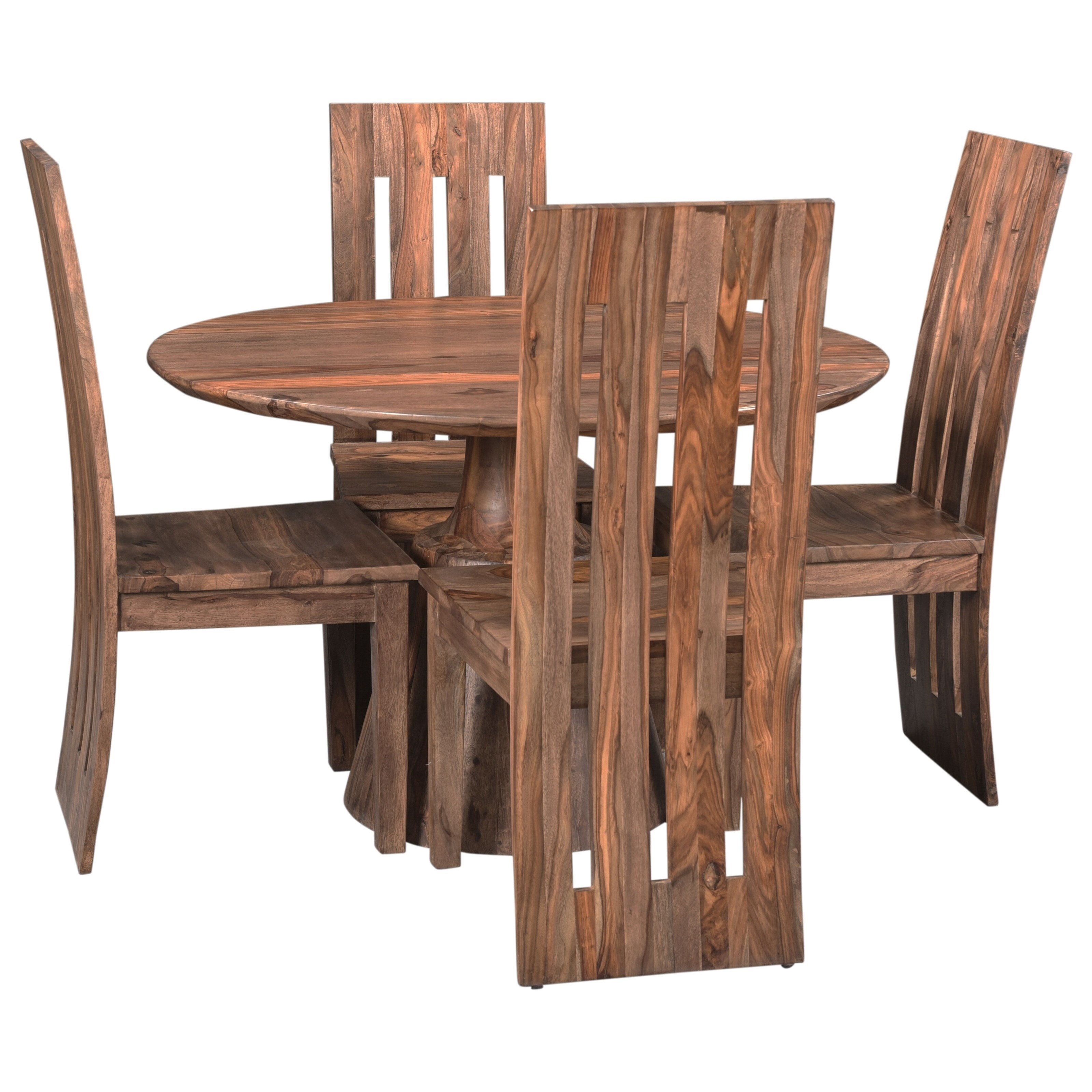 Brownstone 5-Piece Table and Chair Set by Coast to Coast Imports at Zak's Home