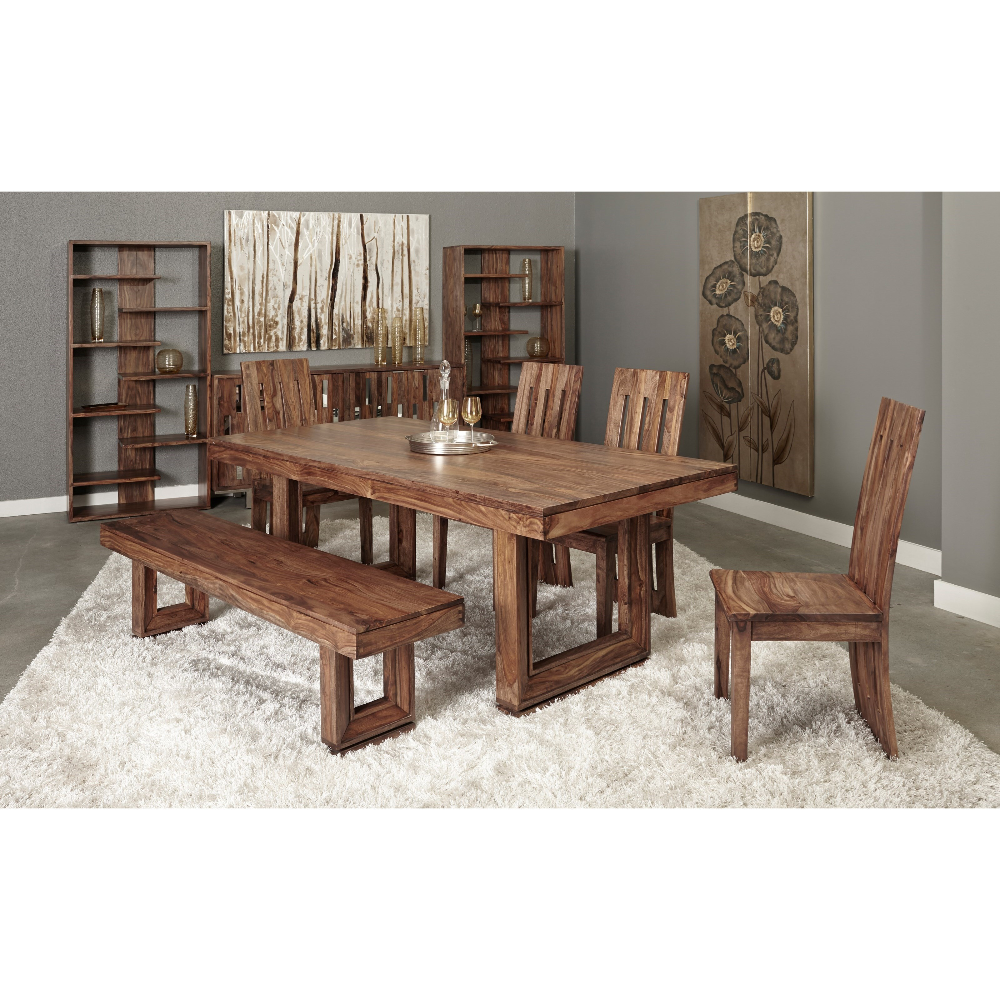 Brownstone Dining Room Group by Coast to Coast Imports at Zak's Home
