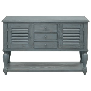 Coast to Coast Imports Coast to Coast Accents Three Drawer Two Door Console