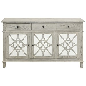 Coast to Coast Imports Coast to Coast Accents Three Drawer Three Door Credenza