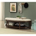 Coast to Coast Imports Coast to Coast Accents Demilune Accent Bench