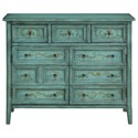 Coast to Coast Imports Coast to Coast Accents Three Drawer Two Door Credenza - Item Number: 13661
