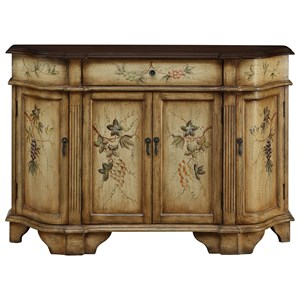 Coast to Coast Imports Coast to Coast Accents One Drawer Four Door Credenza