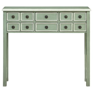 Coast to Coast Imports Coast to Coast Accents Six Drawer Console Table