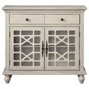 Coast to Coast Imports Coast to Coast Accents Two Drawer Two Door Cabinet - Item Number: 13708