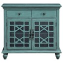Coast to Coast Imports Coast to Coast Accents Two Drawer Two Door Cabinet - Item Number: 13709