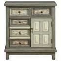 Coast to Coast Imports Coast to Coast Accents Two Drawer Two Door Cabinet - Item Number: 13712