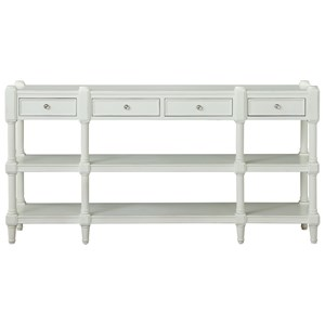 Coast to Coast Imports Coast to Coast Accents Four Drawer Console Table