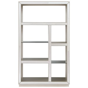 Coast to Coast Imports Coast to Coast Accents Mirrored Bookcase