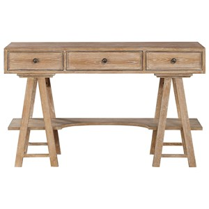 Coast to Coast Imports Coast to Coast Accents Three Drawer Writing Desk