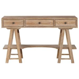 Coast to Coast Imports Coast to Coast Accents Three Drawer Writing Desk