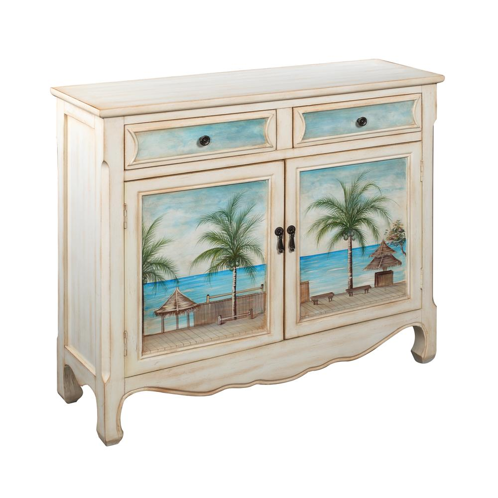 Pieces in Paradise Console Cupboard by Coast to Coast Imports at Zak's Home