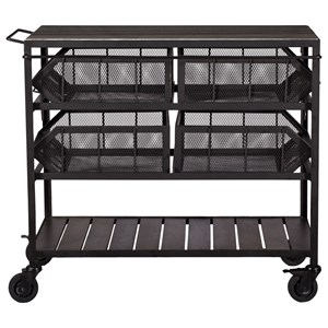Coast to Coast Imports Coast to Coast Accents Bar Cart