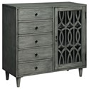 Coast to Coast Imports Coast to Coast Accents One Door Five Drawer Cabinet - Item Number: 22501