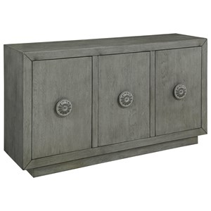 Coast to Coast Imports Coast to Coast Accents Three Door Media Credenza