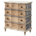 Coast to Coast Imports Coast to Coast Accents Four Drawer Chest - Item Number: 22538