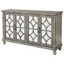 Coast to Coast Imports Coast to Coast Accents Four Door Media Credenza - Item Number: 22561