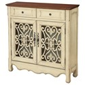 Coast to Coast Imports Coast to Coast Accents Two Door Two Drawer Cupboard - Item Number: 22564