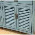 Coast to Coast Imports Coast to Coast Accents Four Door Two Drawer Credenza