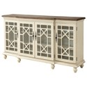 Coast to Coast Imports Coast to Coast Accents Four Door Media Credenza - Item Number: 22580