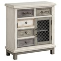 Coast to Coast Imports Coast to Coast Accents Two Door Two Drawer Cabinet - Item Number: 22589