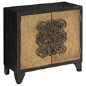 Coast to Coast Imports Coast to Coast Accents Two Door Wine Cabinet - Item Number: 22598