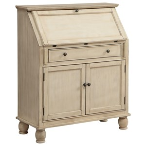 Two Door One Drawer Drop Lid Cabinet