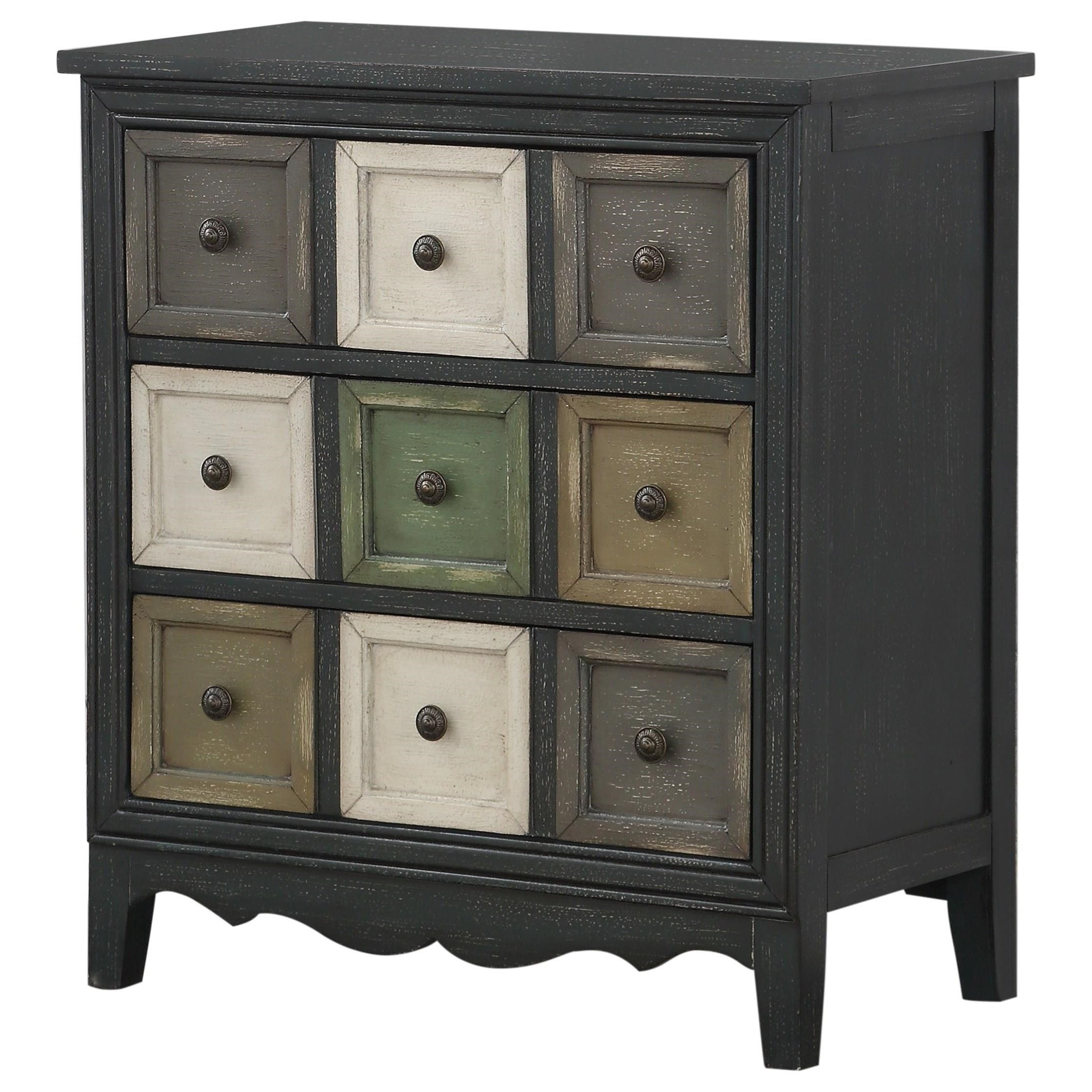 Three Drawer Chest w/ Power
